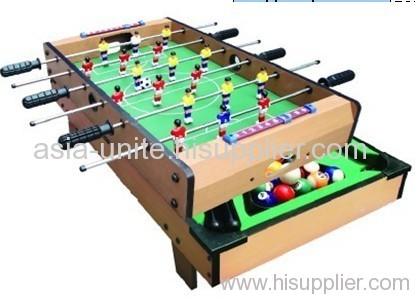 2 in 1 game set football+billiards