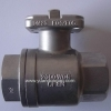 Stainess Steel 2PC Ball Valve With Mounting