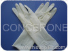 disposable latex surgical gloves (powdered)