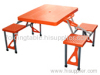 Outdoor ABS folding picnic table