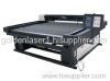 Professional home textile laser cutting machine for curtain/tablecloth/textile