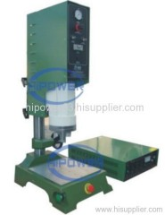 Ultrasonic precision plastic spot welder