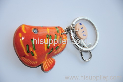 Fish - Kongery leather accessories - key chain