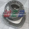 Perforated hole mesh panel