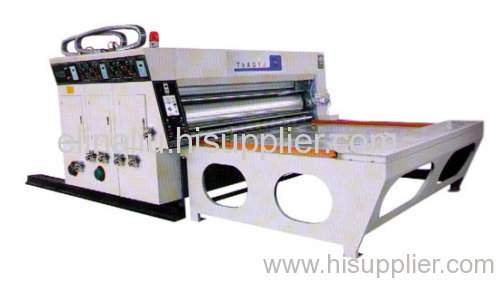 TB480 series double colors of water base printing & slotting machine ( Type A)