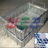 wire baskets for industry