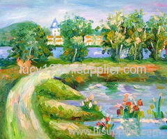 impression landscape oil painting