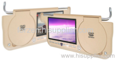 Sun Visor DVD Player with 16:9 Aspect Ratio, 12V DC Power Supply, and OSD Display