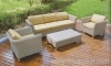 Garden wicker sofa furniture