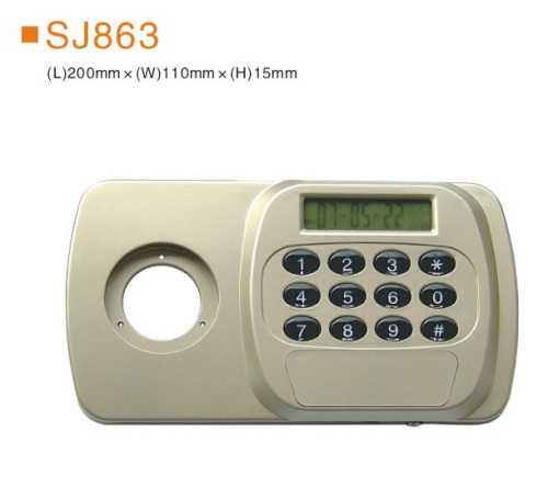 Electronic combination lock steel and beaitiful combined key lock and mechanical gun safe box