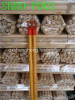 PVC wooden mop handle,wooden stick with PVC coated