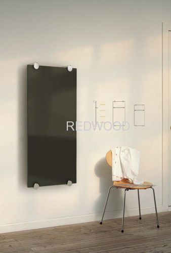 Wall-mounted Glass Radiator