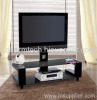 LCD Plasma Tempered Glass TV Stand