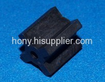 injection irregular plastic ferrite magnet rotor