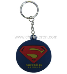 Factory promotion gifts 3D soft pvc keychain