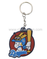cute cartoon soft PVC Keychains