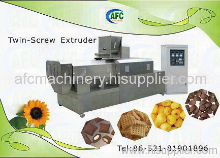 Inflating Food Machinery----Double-screw Extruder