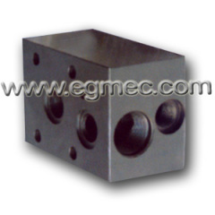 Hydraulic Cartridge Type Pressure Relief Valve Block