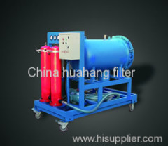 High solid content oil filter machine LYC - G series