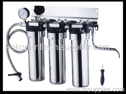 3-stage stainless water purifier