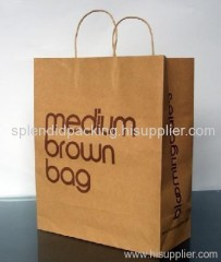 2011 new recycled paper shopping bag