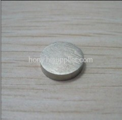 permanent cast AlNICo disc magnet