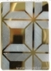 PVD 3D Gold Decorative Stainless Steel Sheet /Plate