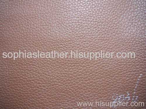 synthetic luggage leather