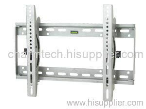 Silver Steel Universal Tilting TV Wall Bracket
