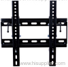 Black Steel Universal Tilting TV Bracket