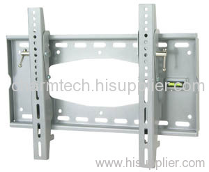 Silver Steel Universal Tilting LCD TV Bracket
