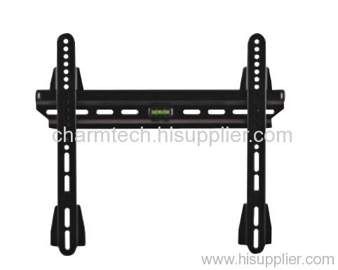 Black Super Low-Profile LCD TV Wall Mount