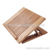 Adjustable Bamboo Laptop Stand