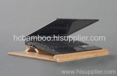 foldable bamboo laptop stand