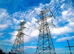 500kv transmission line steel tower