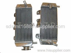 WR250F performance oversize aluminum motorcycle radiator for 07-09