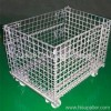wire container/storage basket/wire mesh container/ foldable mesh box pallet/ mesh container /mesh box