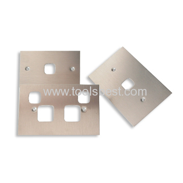 OEM stainless steel stamping switch panels