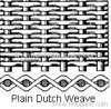 dutch weave filter cloth
