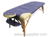 2-section portable wood massage table