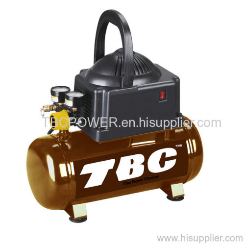 2-gal, hotdog oilless air compressor