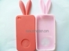 rabbit shape Silicone Case for Iphone 4G