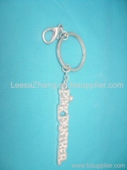 Hot Letter Key Chain