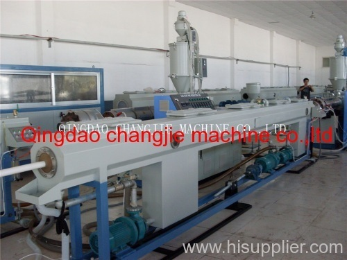 PPR pipe making unit