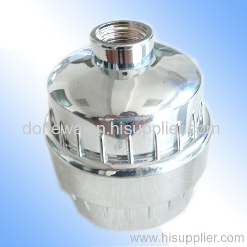 Chrome Plated Shower Filter