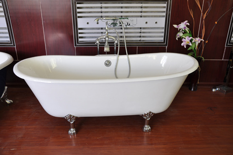 ceramic glaze Cast Iron bathtub