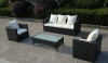 Outdoor furniture rattan wicker KD sofa