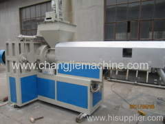 Double Stage Extrusion and Pelletizing Line