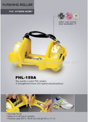 New fashionable flashing roller skate,skate buds,flashing wheel(SGS tested, CE approved)