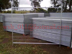 temporary fence panels General Welded Fence Highway Fence